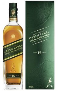 Johnnie Walker Green Label 15 anos - 750ml