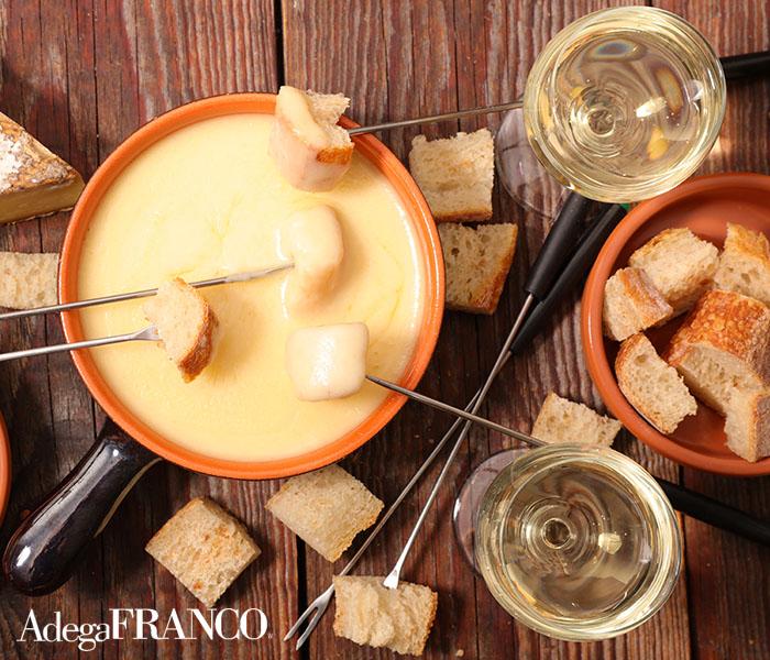 Vinho para fondue