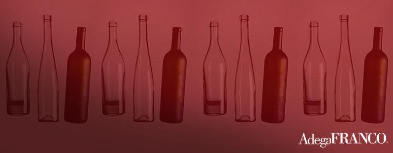 tipos de garrafa de vinho